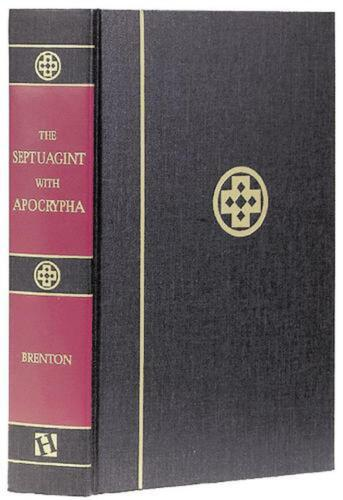 Septuagint with Apocrypha-PR-Greek/English by L.C.L. Brenton (English) Hardcover