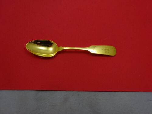 Old English Tipt by Gorham Sterling Silver Teaspoon Vermeil 6 1/8""