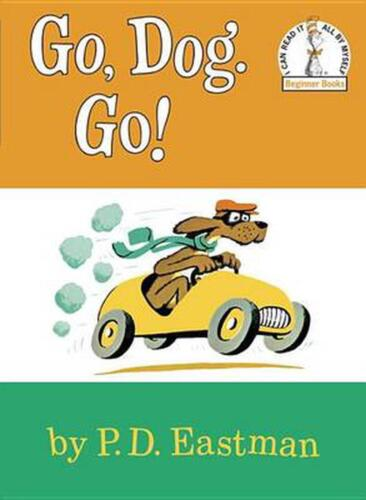 Go, Dog. Go! by P.D. Eastman (English) Library Binding Book Free Shipping!