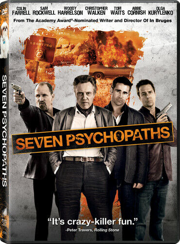 Seven Psychopaths (2013, DVD NEW)
