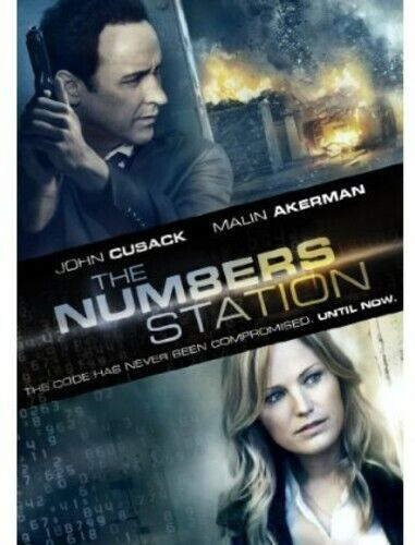 Cusack/Akerman/Cunningham - Numbers Station (2013, DVD NEW)