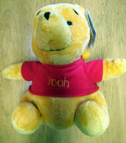 NWT Disney Baby Vintage 2002 WINNIE the POOH Musical Pull Down Toy for Crib