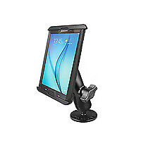 RAM MOUNT Flat Surface Drill Down Boat Mount iPad MINI 4 using Lifeproof Case