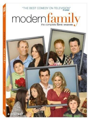 Modern Family: The Complete First Season [4 Discs] (2010, DVD NEW)