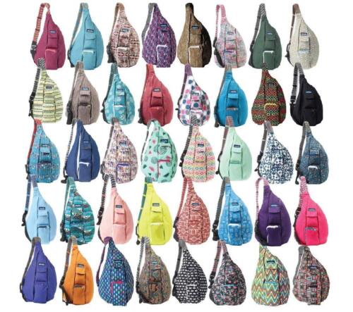 NEW KAVU ROPE BAG SLING NEW COLORS UPDATED SLING MESSENGER CANVAS BACKPACK