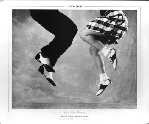 """Lindy Hop Dance poster, """"Jumpin"""" the  20X24"""