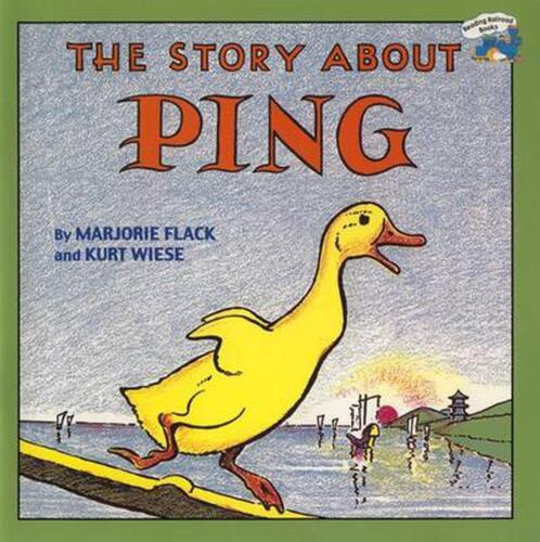The Story about Ping by Marjorie Flack (English) Paperback Book Free Shipping!