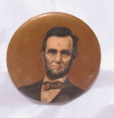 Abe Lincoln Vintage Button/PinButtons - 36034