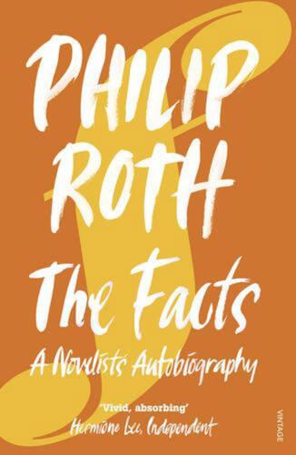 The Facts: A Novelist's Autobiography by Philip Roth (English) Paperback Book Fr