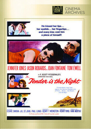 Tender Is the Night (2013, DVD NEW) DVD-R
