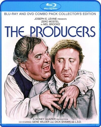 Producers [Collector's Edition] [2 Discs] [Blu-ray/DVD] (2013, Blu-ray NEW)