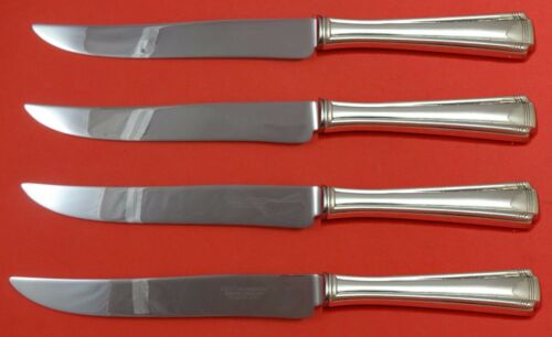 John and Priscilla by Westmorland Sterling Steak Knife Set Texas Sized Custom