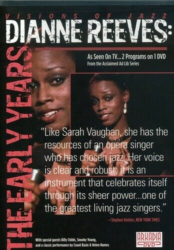 Ad Lib: Dianne Reeves - The Early Years (2008, DVD NEW)