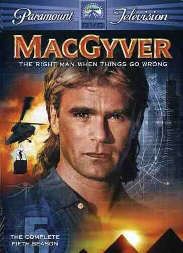 MacGyver: The Complete Fifth Season [3 Discs] (2006, DVD NEW)