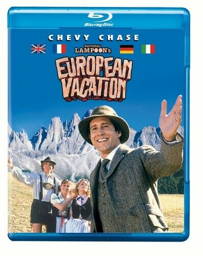 [BLU-RAY/A NEW] NATIONAL LAMPOON'S EUROPEAN VACATION