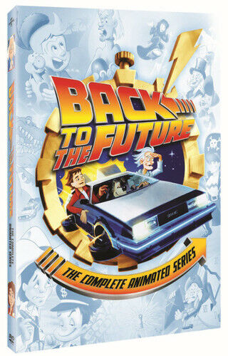 Back To The Future: The Complete Animated Series - 4 DISC SET (2015, DVD NEW)