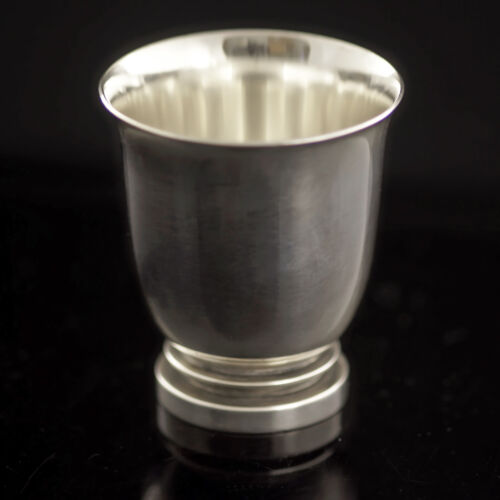 Georg Jensen Small Sterling Silver Cup - Pyramid/ Pyramide #660 A - VINTAGE