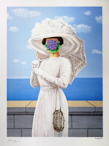 Rene Magritte - The Great War (signed & numbered lithograph)