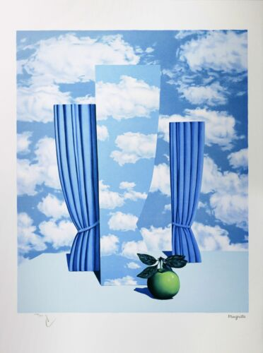 Rene Magritte - The Beautiful World (signed & numbered lithograph)