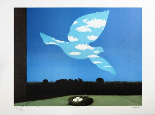 Rene Magritte - The Return (signed & numbered lithograph)