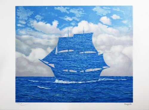 Rene Magritte - The Tempter (signed & numbered lithograph)