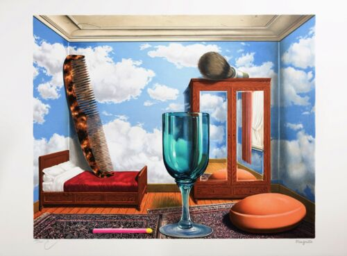 Rene Magritte - Personal Values (signed & numbered lithograph)