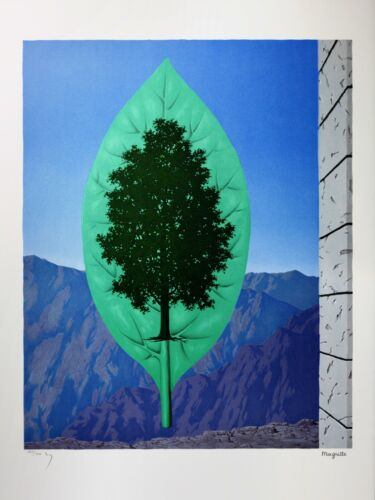 Rene Magritte - The Last Word (signed & numbered lithograph)