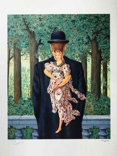Rene Magritte - The Ready-Made Bouquet (lithograph, plate-signed & numbered)
