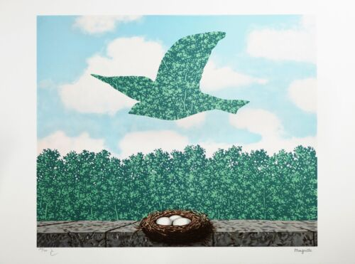 Rene Magritte - Spring (signed & numbered lithograph)