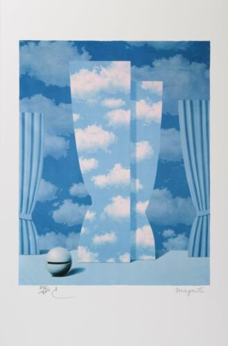 Rene Magritte - The Wasted Effort (lithograph, plate-signed & numbered)