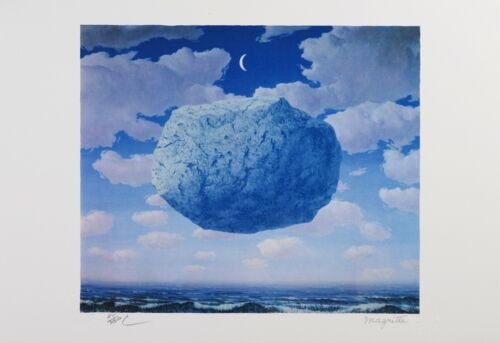 Rene Magritte - Zeno's Arrow (lithograph, plate-signed & numbered)