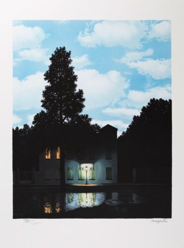 Rene Magritte - The Empire of Light (signed & numbered lithograph)