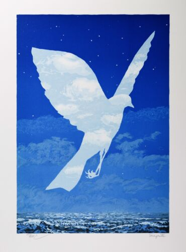 Rene Magritte - The Emergence (signed & numbered lithograph)