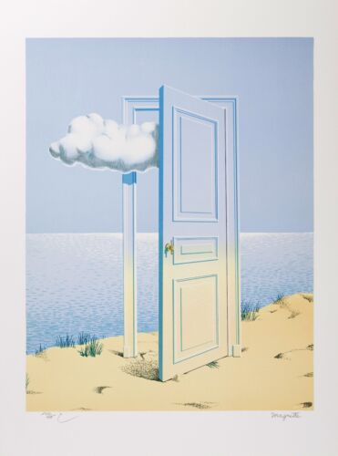 Rene Magritte - La Victoire (signed & numbered lithograph)