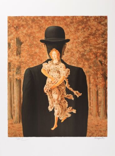 Rene Magritte - The Ready-Made Bouquet (signed & numbered lithograph)