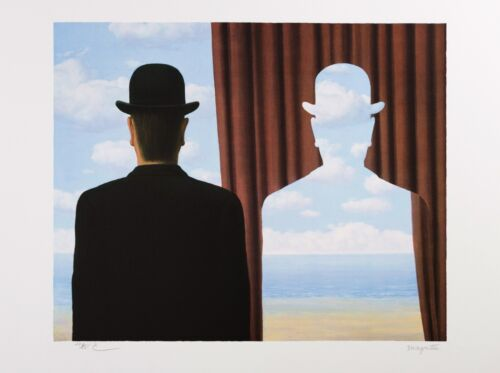 René Magritte - Decalcomania (signed & numbered lithograph)