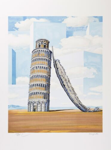 Rene Magritte - Memory of a Journey (signed & numbered lithograph)