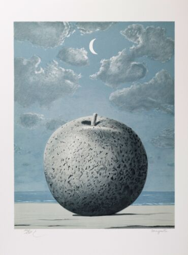 Rene Magritte - Memory of a Voyage (signed & numbered lithograph)