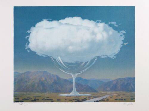 Rene Magritte - Heartstring (signed & numbered lithograph)