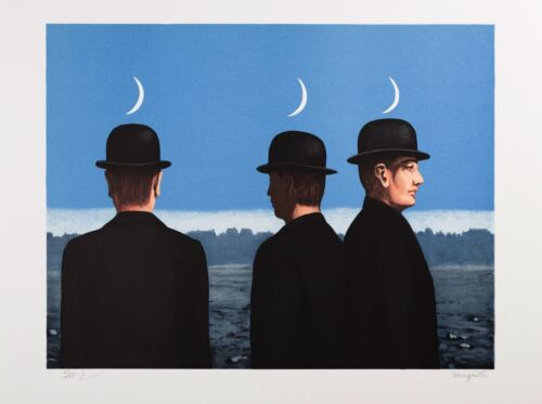 Rene Magritte - The Mysteries of the Horizon (signed & numbered lithograph)