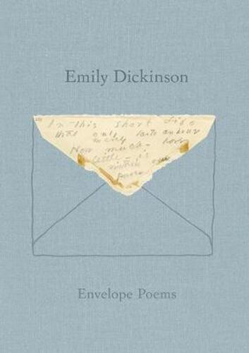 Envelope Poems by Emily Dickinson (English) Hardcover Book Free Shipping!