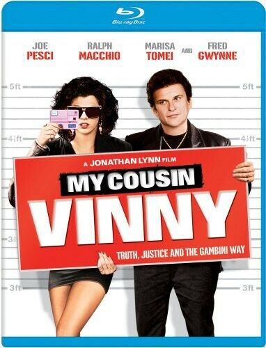 [BLU-RAY/A NEW] MY COUSIN VINNY