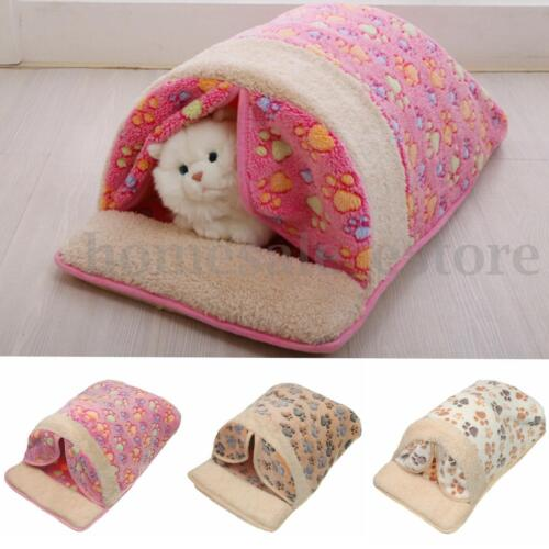 New Soft Warm Cat/Dog Bed Sofa Pet Kitty Puppy Comfortable Beds Sleeping Bag