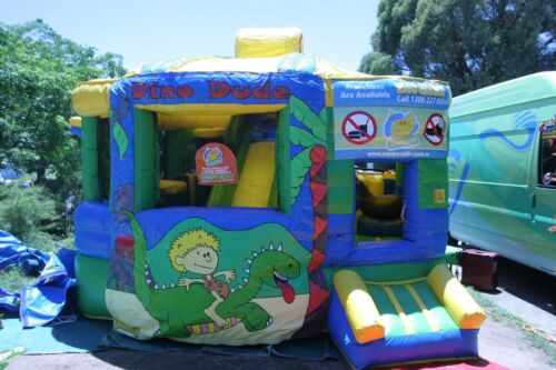 MASSIVE JUMPING CASTLE SALE - 4.5m x 5m Fun Factory ** Commercial * USED