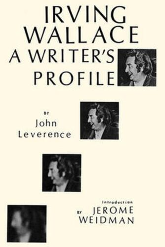 Irving Wallace a Writers Choice by Leverance (English) Hardcover Book Free Shipp