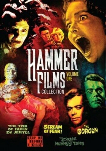 Hammer Film Collection 1: 5 Movie Pack - 2 DISC SET (2015, DVD NEW)