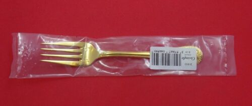 "Malmaison Vermeil by Christofle Sterling Silver Salad Fork 4-Tine 6 1/2"" New"