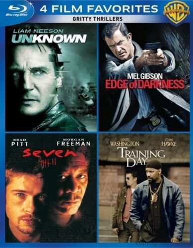 Unknown / Seven / Edge of Darkness / Training Day (Blu-ray)