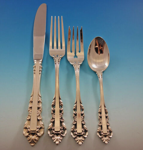 Medici by Gorham (1971) Sterling Silver Flatware Set 12 Service 52 Pieces