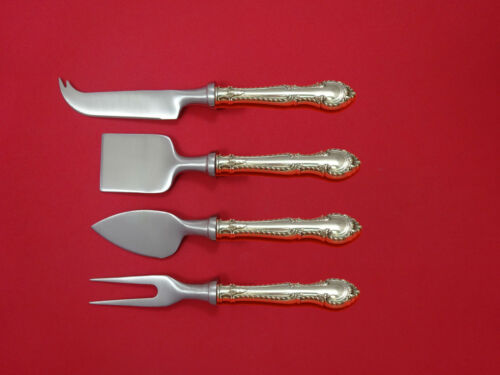 English Gadroon by Gorham Sterling Cheese Serving Set 4 Piece HHWS  Custom